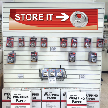 Store It Red Self Storage Signs