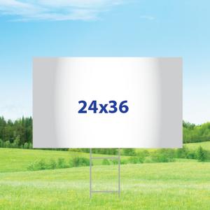 "24"" x 36"" Yard Signs - Single Sided"