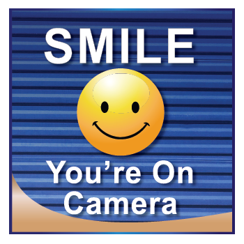 Smile You're on Camera Sign