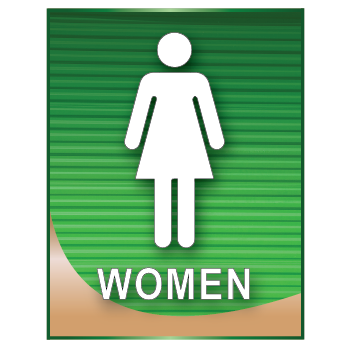 Women's Restroom Sign