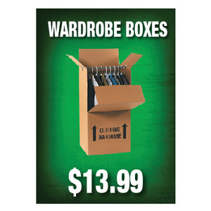 Wardrobe Boxes Sign