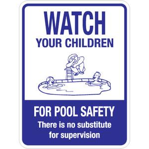 """Watch Your Children Sign - 18"""" x 24"""""""