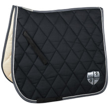 HF by Equest Black & Silver Saddle Blanket