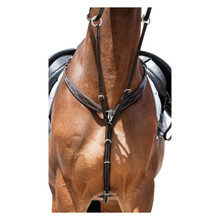 Elegance Leather Breastplate Brown