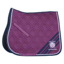 HF Malaga Purple Saddle Blanket
