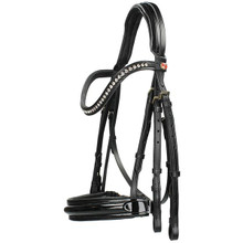 Kieffer Double Bridle Paris Black