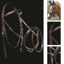 Mark Todd MT Performance Flash Bridle Brown