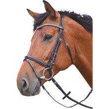 Silver Coloured Balve Leather Bridle