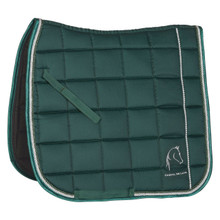 CDL Glamour Saddle Blanket Botanic Green