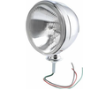 "Chrome Headlight, 7"" with H4 55/60W Bulb, Each"