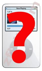 iPod Classic 5th Gen Diagnostic Service