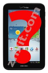 Samsung Tab 2 Diagnostic Service