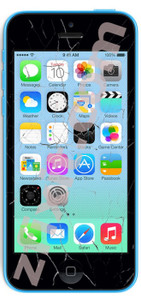 iPhone 5C Cracked Screen Repair