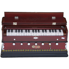 BINA NO. 8 Harmonium, 2 Reeds, 3.25 Octaves, 7 Stops, Coupler, Rosewood Color - (BR-AGD)