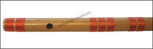 MAHARAJA Bansuri Scale F Natural Bass 28 Inch, Indian Bamboo Flute CFI