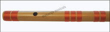MAHARAJA Bansuri Scale E Natural Bass 29 Inch Indian Bamboo Flute CFG