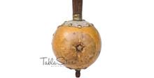 MAHARAJA Special Ik Taara  Tumbi - Gourd Toomba - Tun Wood - Handmade - (BR-BIG)
