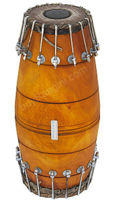 MAHARAJA Mridangam, Jackfruit Wood, Bolt Tuned, South Indian Drum - (BR-BBI)