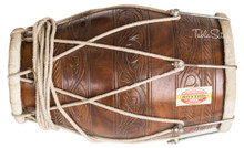 MUKTA DAS Special Dholak (Dholki), Sheesham Wood With Tuning Spanner, Bag  - (BR-FCA)