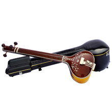 Tanpura, Female, 4 Strings, Fiber Trolly