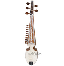 MAHARAJA Designer Rebab, Tasteful Inlay Work, Plectrum(Guitar Pick) FH