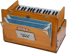 BINA No. 23B Deluxe Harmonium, 2.5 Octaves, Folding, Small