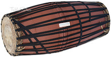 MAHARAJA Mridangam, Strap Tuned,  Jackfruit Wood, South Indian Drum - (BR-DBA)