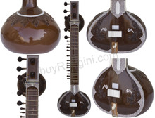 buy Jayanta Sengupta Sitar - Ravi Shankar Style - Double Toomba - With Fiber Trolley  for sale