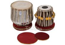 Dhama Jori - Classic Brass Dhama - Sheesham Wood Dayan - Tabla