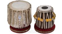 Designer Dhama Jori - Brass Dhama - Sheesham Wood Dayan
