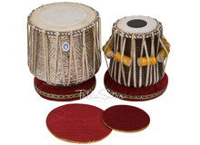 LALI & SONS Dhama Jori, Brass Dhama - Sheesham Dayan(Tabla) - ECJ