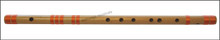 MAHARAJA Bansuri, Scale G# Sharp Bass 24 Inch, Indian Bamboo Flute CGE