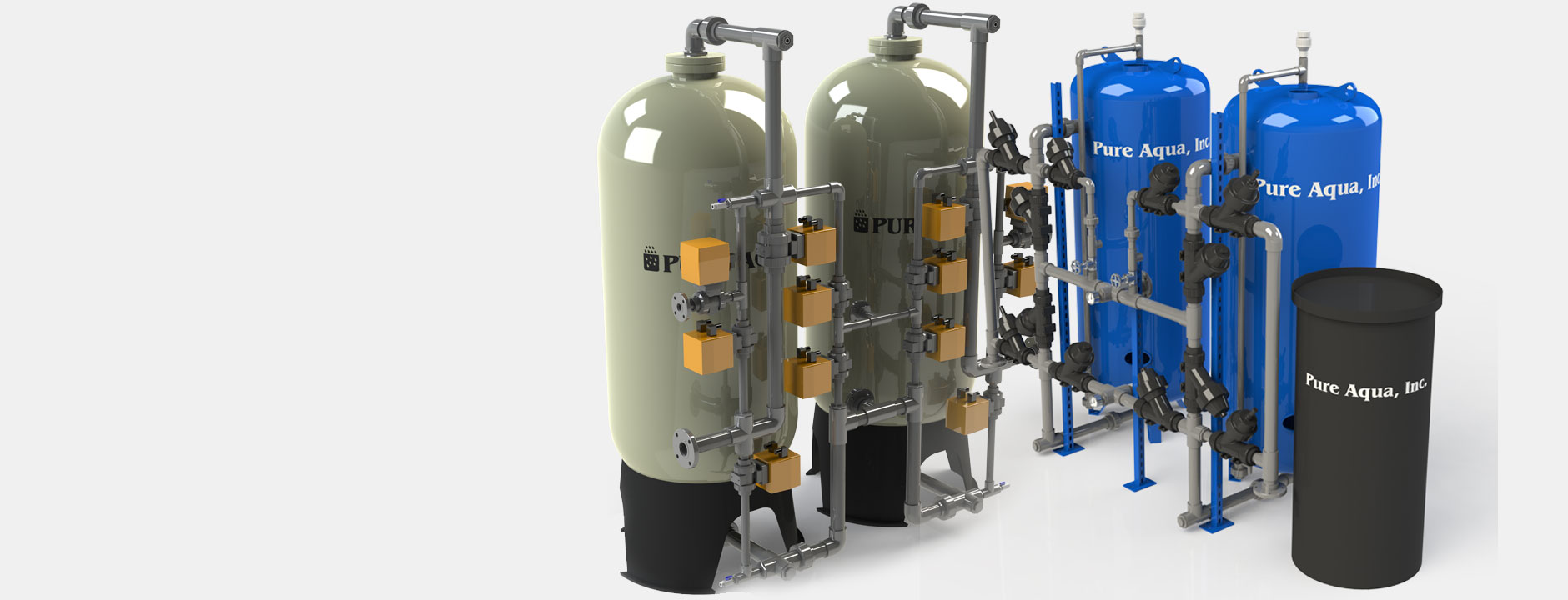 Échangeurs d'ions, systèmes d'adoucisseurs d'eau