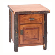 FL84040 Enclosed End Table/TV Stand