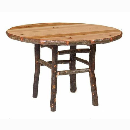 FL85020 Round Hickory Dining Table