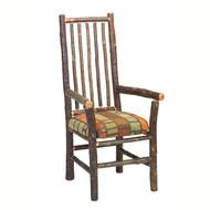 FL86060 Hickory High-Back Spoke-Back Arm Chair
