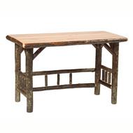 FL87300 Hickory Open Weiting Desk