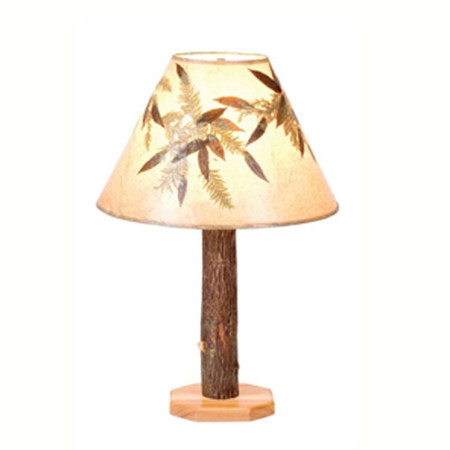 FL89210 Hickory Table Lamp & Shade