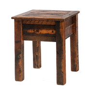 FLB11021 Barnwood One Drawer Nightstand