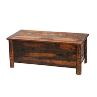 FLB12201 Barnwood Blanket Chest