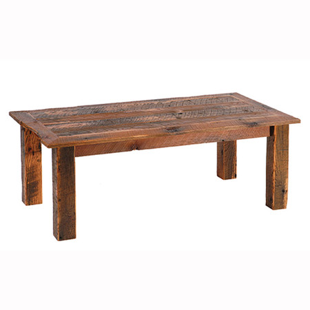 FLB14075 Barnwood Coffee Table