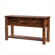 FLB14140 Barnwood Console Table