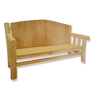 GT2001 GoodTimber Log Couch