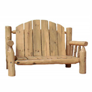 GT2214 Outdoor Log Couch