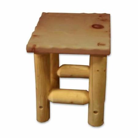 GT2235 Outdoor Lodgepole Legs Side Table
