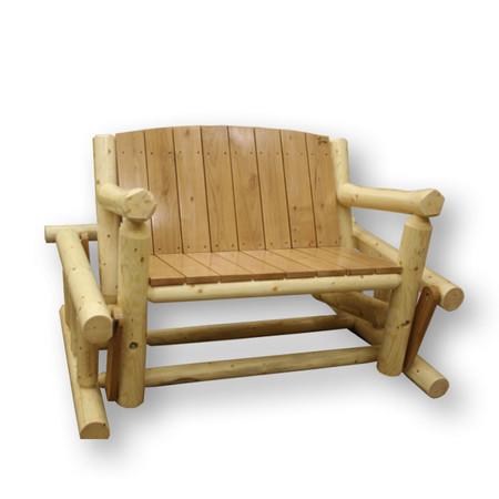 Rustic Furniture Outdoor Glider