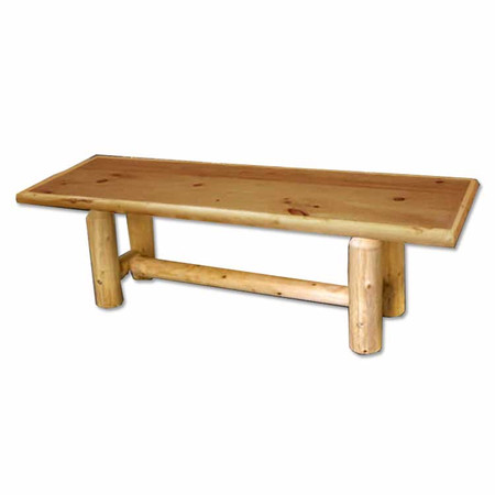 Rustic furniture log coffee table for Log coffee table