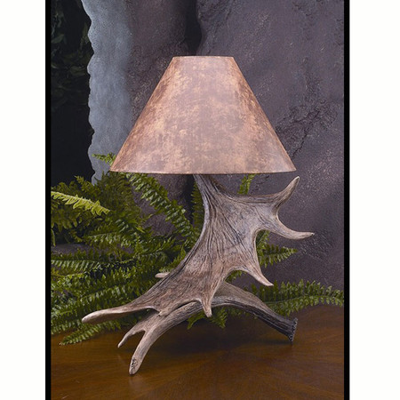 HP66588 Moose Antler Lamp