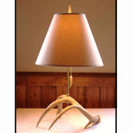 MA1013B Whitetail Lamp-Brass