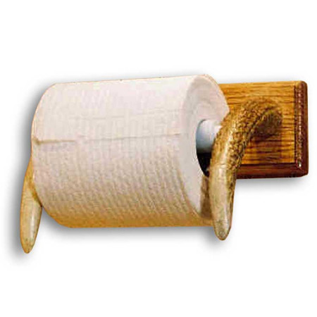 MA1027 Real Antler Toilet Paper Holder
